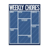 WEEKLY CHORES Perfect for your kids or business!
