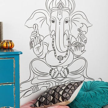 Ganesha Wall Decal