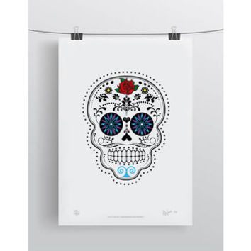 'Day Of The Dead' Limited Edition Signed Print