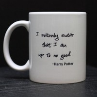 Harry Potter Mug by DailyGrinder on Etsy