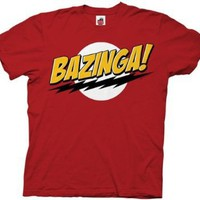 Amazon.com: Mens The Big Bang Theory Bazinga T-shirt: Clothing