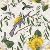 """Removable Wallpaper - Trigger Happy - 20"""" x"""