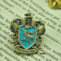 Harry Potter ravenclaw,  gryffindor,Slytherin  and hufflepuee House Crest  pin-----SALE