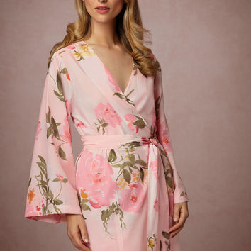 Painted Petal Robe