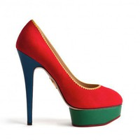 Charlotte Olympia - Priscilla - Autumn Winter 11 - Primary Colorblock