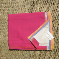 Nomadic Thread Society - Fuchsia + Apricot Vanilla Terry Sarong Towel
