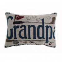 American Mills Grandpa Pillow (Set of 2) - 35666.423 - Pillows, Blankets & Slipcovers - Decor
