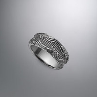 Waves band Ring, 10.5mm