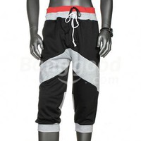 Fashionable Sport Casual Cotton Threaded Men's Short Pants Free Shipping!  - US$11.05