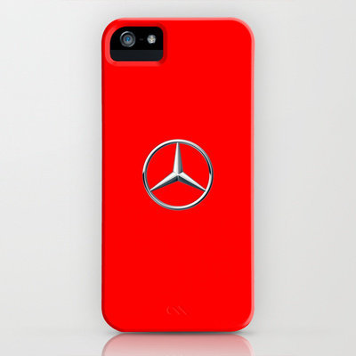 Mercedes symbol red iPhone Case by JT Digital Art  | Society6
