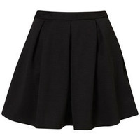 Black Ribbed Pleated Skirt - Skirts - New In This Week  - New In