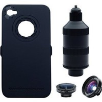Amazon.com: iPro Lens System for Apple iPhone 4 & 4S with Cases, Handle, Fisheye & Wide-Angle Lenses: Cell Phones & Accessories