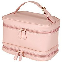 Royce Luggage - Leather Leather Ladies Cosmetic Travel Case 270 - Luggage Online