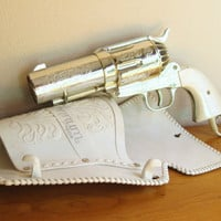 Vintage 357 Magnum Hair Dryer, Made by Jerdon, Gun Blow Dryer, Pistol shaped Hairdryer, Revolver