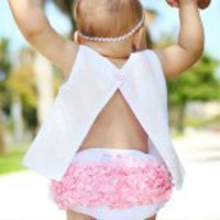 RuffleButt Panty or Diaper Cover | Personalized