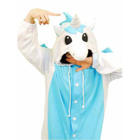 Unicorn Pleuche Jazz Cloth Funny Kigurumi Costume [TQL120329072] - 30.39 : Zentai, Sexy Lingerie, Zentai Suit, Chemise
