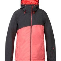 Roxy Pandorea Snowboard Jacket Anthracite/Diva Pink - Womens page.year