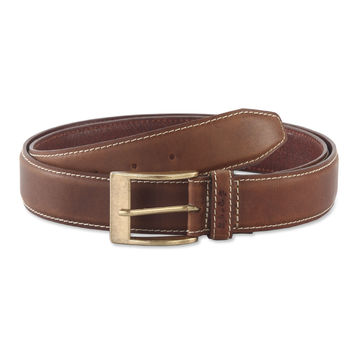 Belt in Top Grain Leather in Brown Color - 391902 - Leather /