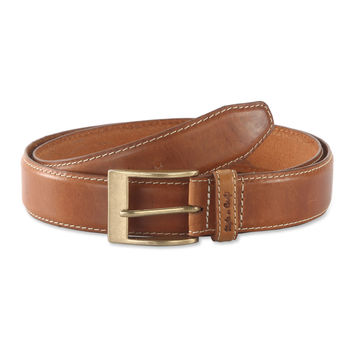 Belt in Top Grain Leather in Tan Color - 391901 - Leather /