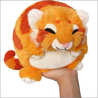 Mini Squishable Golden Tiger: An Adorable Fuzzy Plush to Snurfle and Squeeze!