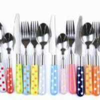 Eclectic Cutlery Set Spotty | Tableware | Kitchen | £29.99 - The Contemporary Home Online Shop