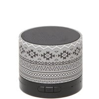 Audiology Printed Portable Bluetooth Speaker
