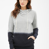 Colorblocked French Terry Hoodie
