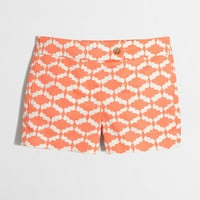 "Factory 3"" printed stretch chino short : novelty 