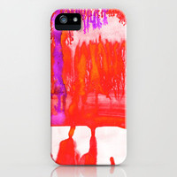 Dip Dye Tangelo iPhone Case by Amy Sia | Society6