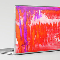 Dip Dye Tangelo Laptop & iPad Skin by Amy Sia | Society6