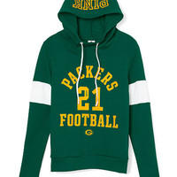 Green Bay Packers Funnel-Neck Pullover - PINK - Victoria's Secret