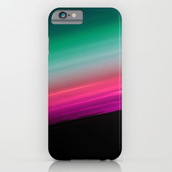Fuchsia to Teal Smooth Ombre iPhone & iPod Case by 2sweet4words Designs