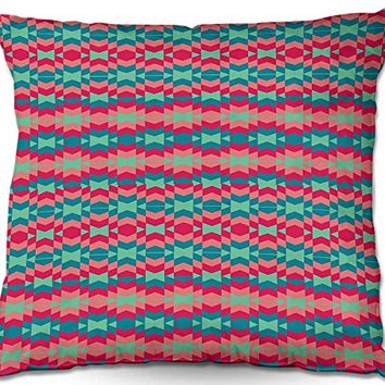 Decorative Woven Couch / Throw Pillow from DiaNoche Designs by Nika Martinez Unique Bedroom, Living Room and Bathroom Ideas - Sol