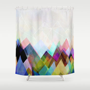 Graphic 104 Shower Curtain by Mareike Böhmer Graphics