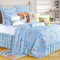 Reef Paradise Deluxe Bedding Set | OceanStyles.com