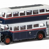 OM41610A Crossley DD42, Ashton Corporation, Destination A - Original Omnibus Corgi