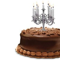 Cake Candelabra - The Fanciest Cake Around - Whimsical &amp; Unique Gift Ideas for the Coolest Gift Givers