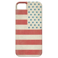 American Vintage Civilian Flag Case-Mate Case iPhone 5 Cases from Zazzle