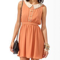 Tiered Collar Dress
