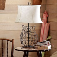 Owl Lamp Base + Shade | PBteen