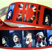3 yards for 2.65 One Direction Inspired Ribbon