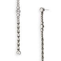 Givenchy 'Studio' Linear Crystal Earrings | Nordstrom