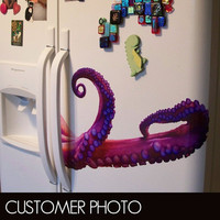 Tentacles Vinyl Decal by WilsonGraphics on Etsy