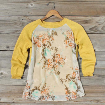 Library Card Sweater, Sweet Bohemian Clothing
