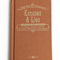 Excuses &amp; Lies For All Occasions Book - &amp;#36;9.00 : ThreadSence.com, Your Spot For Indie Clothing &amp; Indie Urban Culture