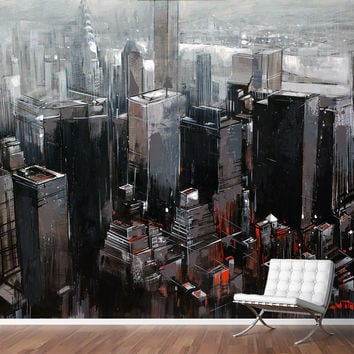 NEW YORK Mural by Van Tame