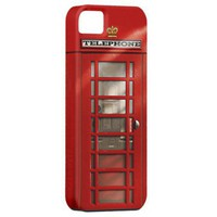 Classic British Red Telephone Box iPhone 5 Case from Zazzle.com