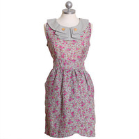 wendy wildflowers floral dress by Knitted Dove - $75.50 : ShopRuche.com, Vintage Inspired Clothing, Affordable Clothes, Eco friendly Fashion