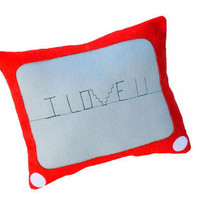 I Love You on Etch-a-sketch