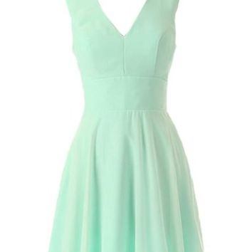 Kamilione Women's Sweetheart Chiffon Short Prom Dresses Bridesmaid Dress